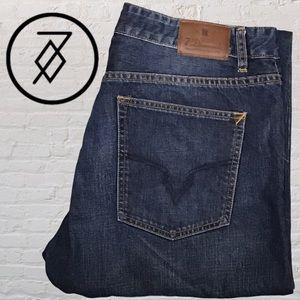 7 Diamonds Dark Wash Jeans 39 X 33